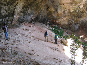 Horseshoe Cave near Salt Island Lagoon - Amanda Neil